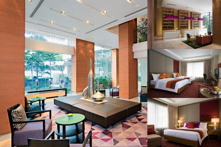 Courtyard by Marriott Bangkok photo collage