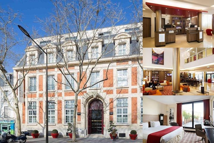 Courtyard by Marriott Paris Boulogne photo collage