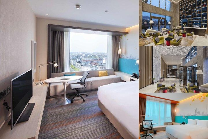 Hilton Garden Inn Shanghai Hongqiao photo collage