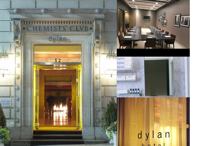 Dylan Hotel Nyc photo collage