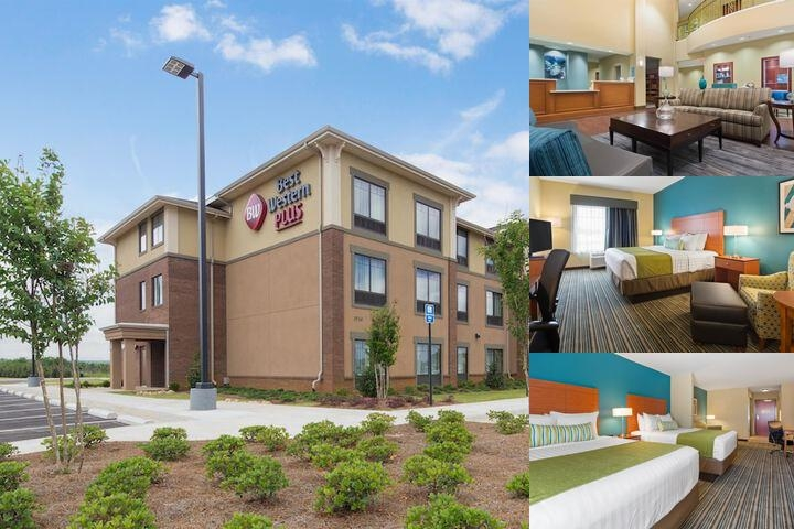 Best Western Plus Tuscumbia / Muscle Shoals Hotel & Suites photo collage