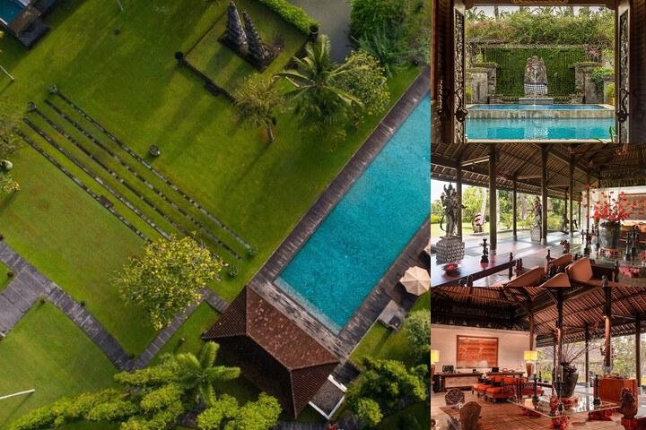 The Chedi Club Tanah Gajah Ubud photo collage