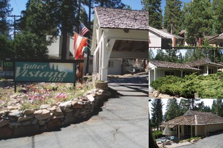 Tahoe Vistana Inn photo collage