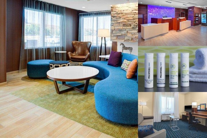 Fairfield Inn & Suites by Marriott Hollister photo collage
