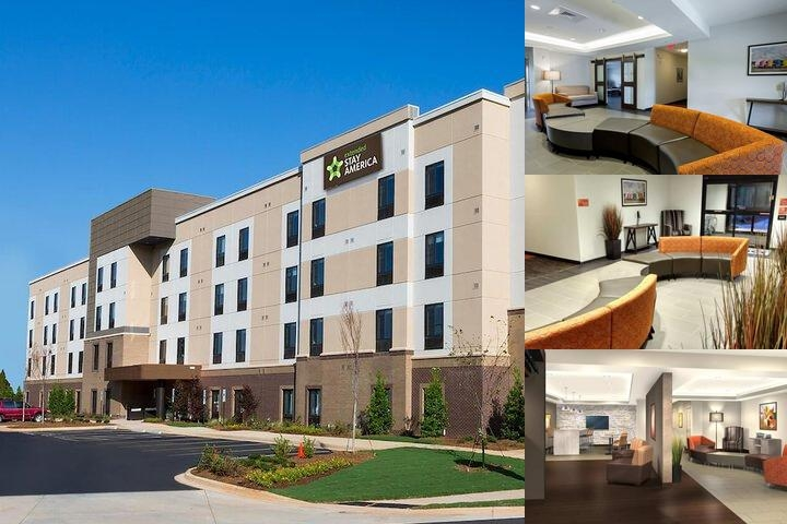 Legacy Suites Rock Hill photo collage