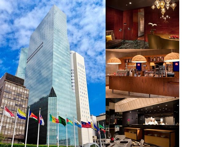 Millennium Hilton New York One Un Plaza photo collage