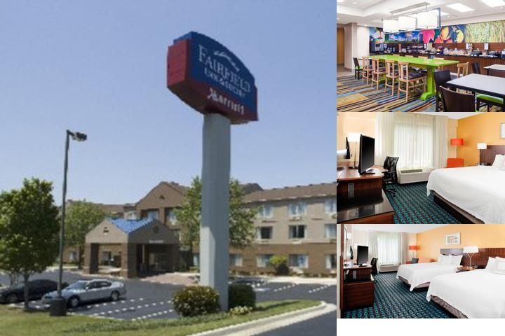 Fairfield Inn & Suites Marriot photo collage