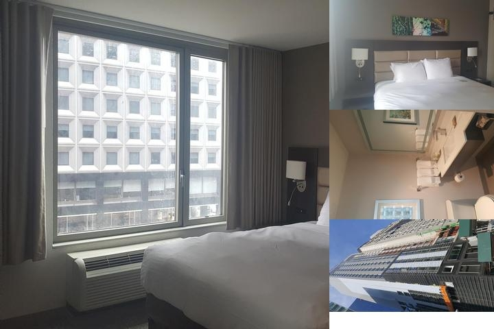 Hilton Garden Inn Financial Center Manhattan photo collage