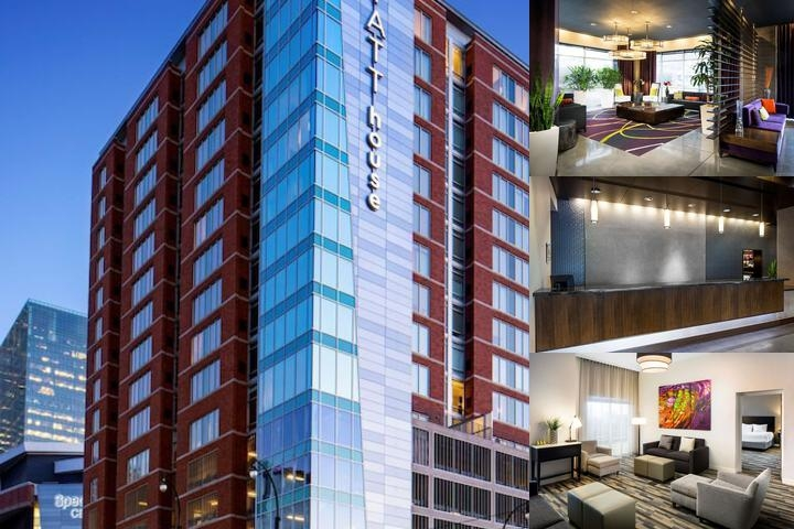 Hyatt House Charlotte Center City photo collage