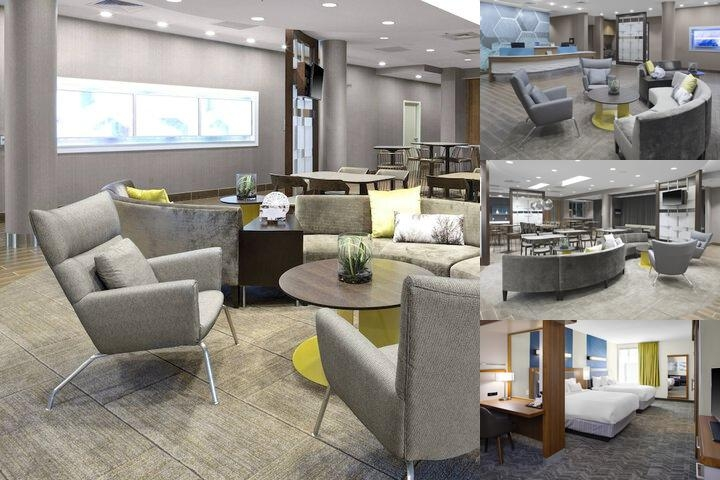 Springhill Suites Kansas City Lenexa / City Center photo collage