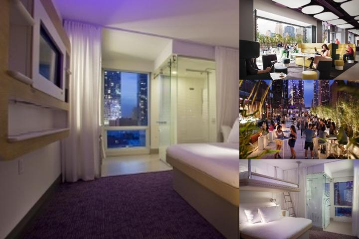 Yotel New York photo collage