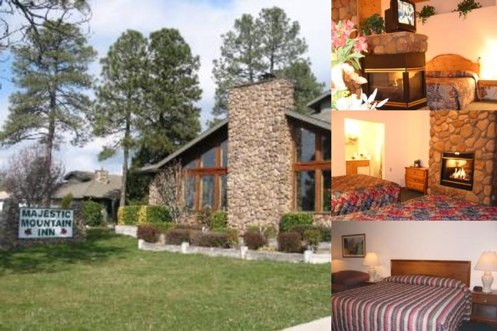 Majestic Mountain Inn photo collage