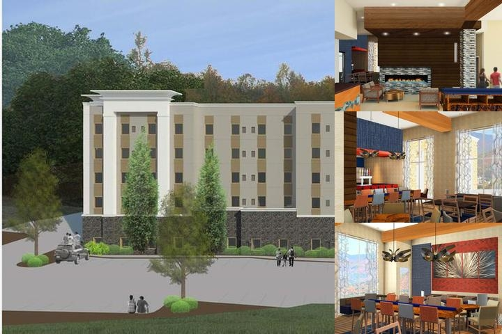 Hampton Inn & Suites Asheville Biltmore Village photo collage