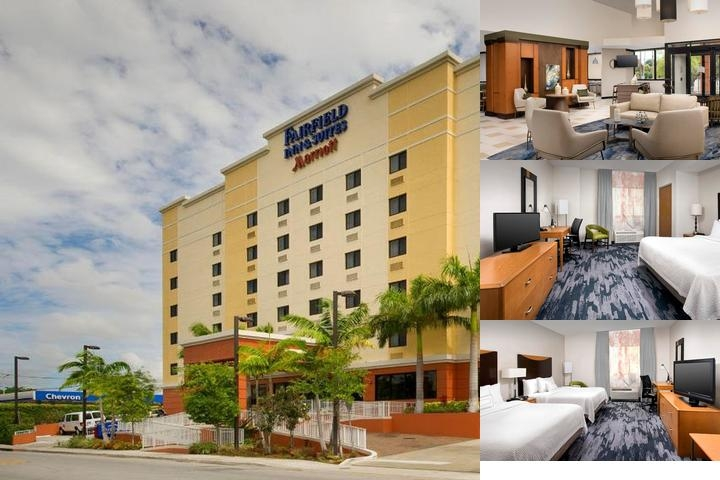 Fairfield Inn & Suites Miami Airport South photo collage