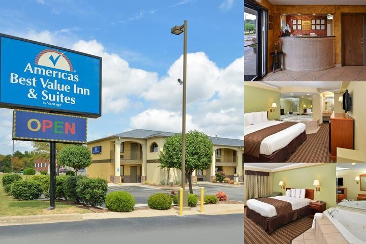 Americas Best Value Inn Suites University Avenue Little Rock Ar