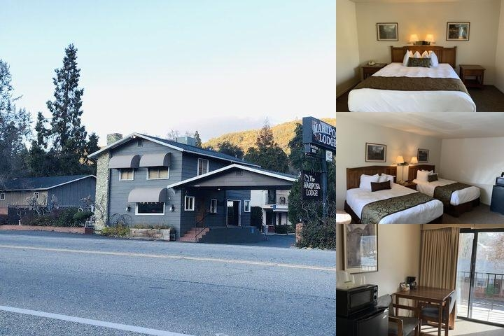 Americas Best Value Inn Mariposa Lodge photo collage