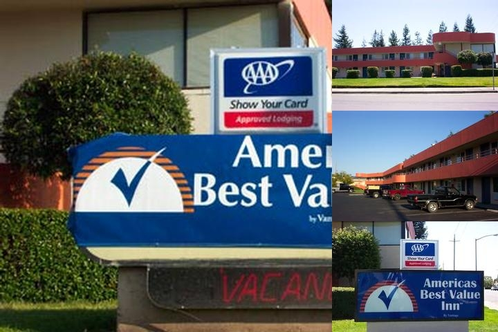 Americas Best Value Inn Santa Rosa photo collage