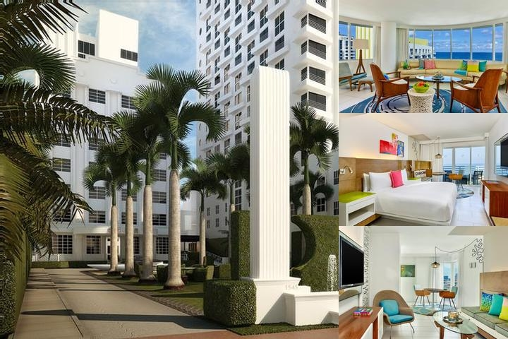 Royal Palm South Beach photo collage