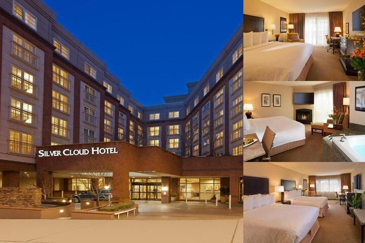Silver Cloud Hotel Seattle Broadway photo collage