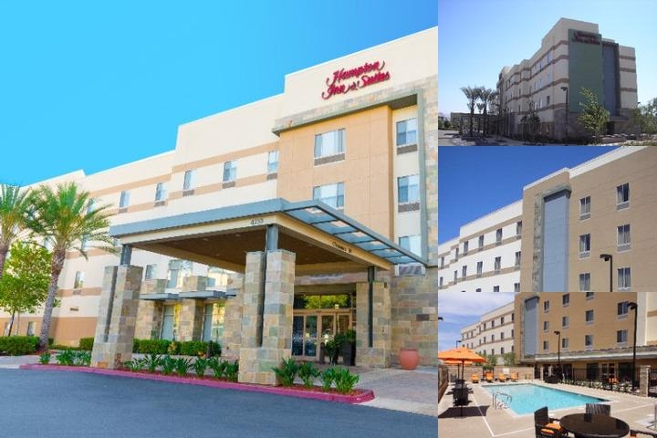 Hampton Inn & Suites by Hilton Riverside / Corona photo collage