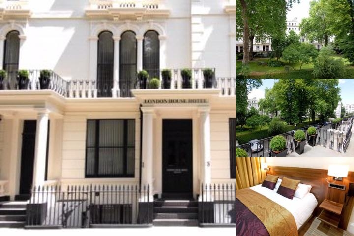 London House Hotel photo collage