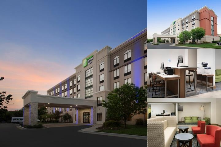 Holiday Inn Express & Suites Baltimore BWI Airport North. photo collage