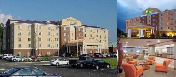 Holiday Inn Express Petersburg photo collage