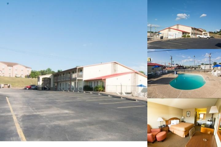 Americas Best Value Inn Buffalo Tx photo collage