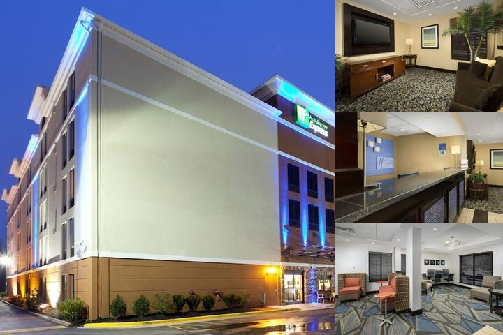 Holiday Inn Express Washington DC / Best Western Parkway photo collage
