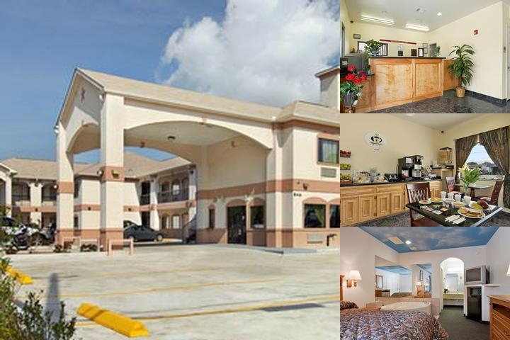 Americas Best Value Inn & Suites Deer Park / Houston photo collage