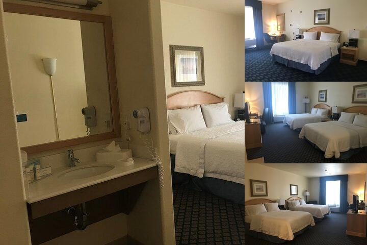 Hampton Inn San Jose photo collage