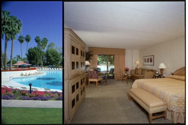 Radisson Resort & Spa Scottsdale photo collage
