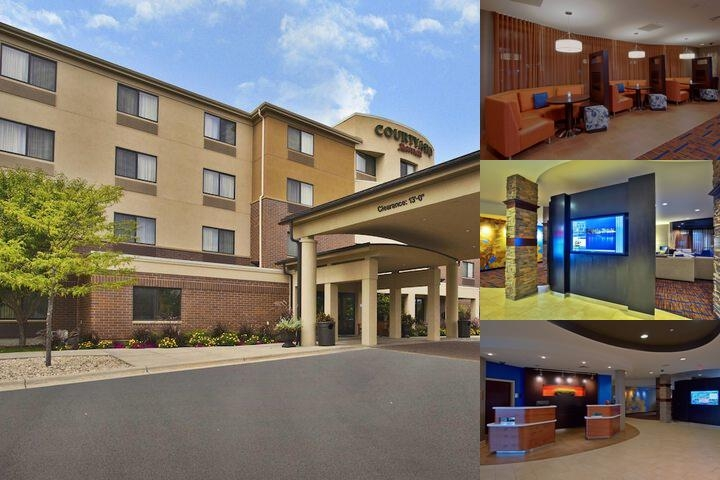 Courtyard by Marriott Madison West / Middleton photo collage