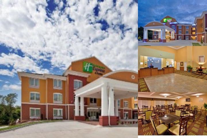 Holiday Inn Express Kansas City Sports Complex Area photo collage