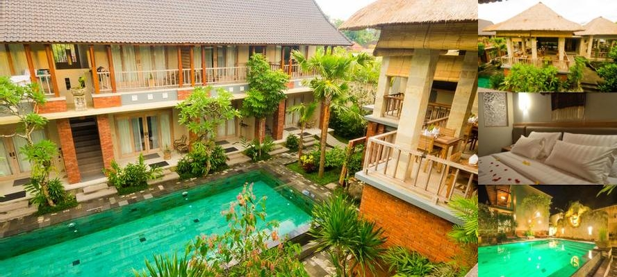 Tetirah Boutique Hotel Ubud photo collage