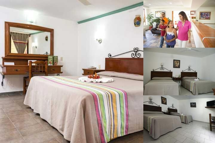 Hotel Los Olivos Spa photo collage