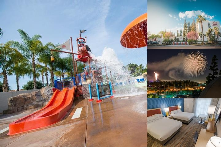 Howard Johnson by Wyndham Anaheim Hotel & Water Playground photo collage