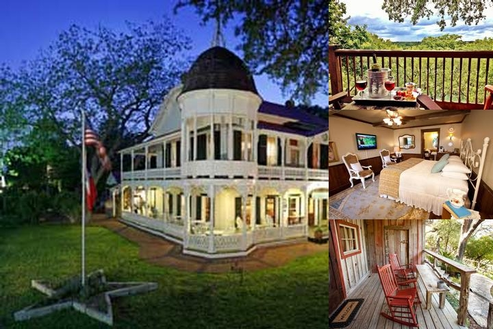 Gruene Mansion Inn photo collage