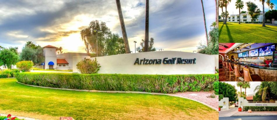 Arizona Golf Resort & Conference Center photo collage