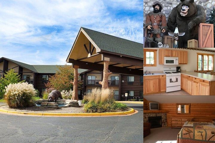 Grizzly Jack's Grand Bear Resort photo collage