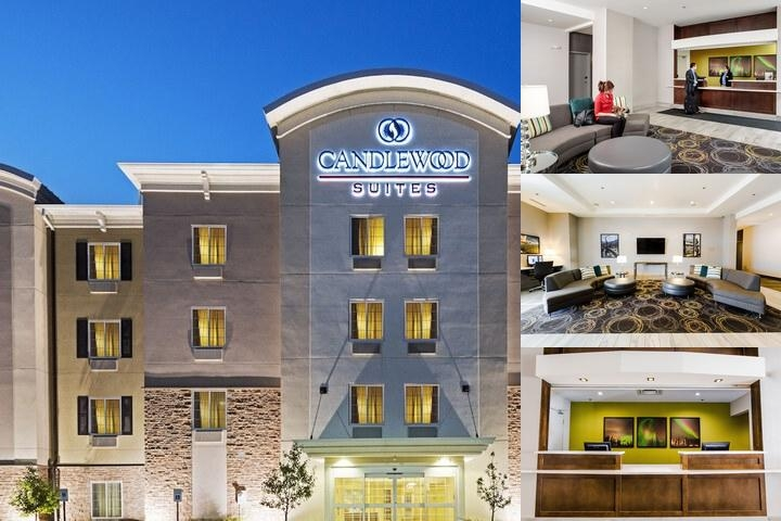 Candlewood Suites West Edmonton photo collage