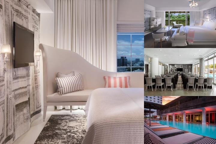 Sls South Beach photo collage