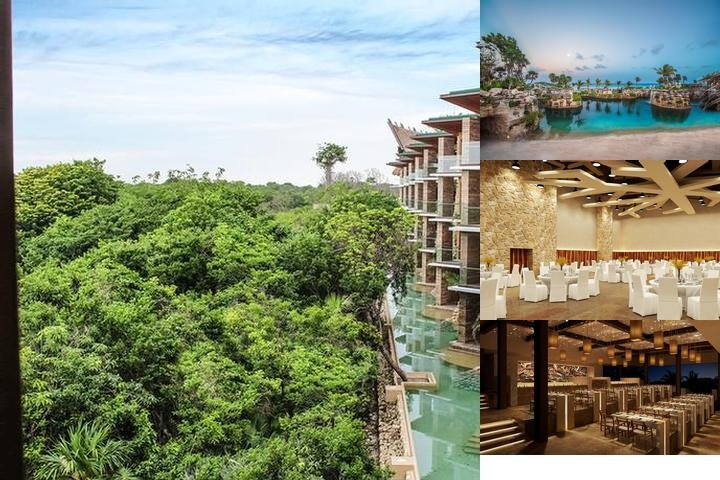 Hotel Xcaret Mexico photo collage