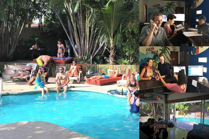 Costa Rica Backpackers Hostel (In San Jose) photo collage
