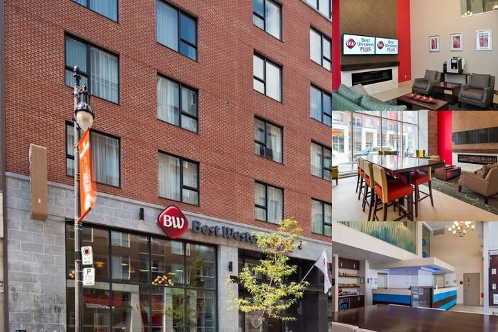 Best Western Plus Hotel Montreal photo collage