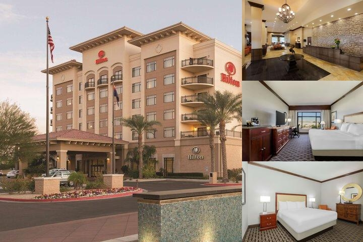 Hilton Phoenix Chandler photo collage