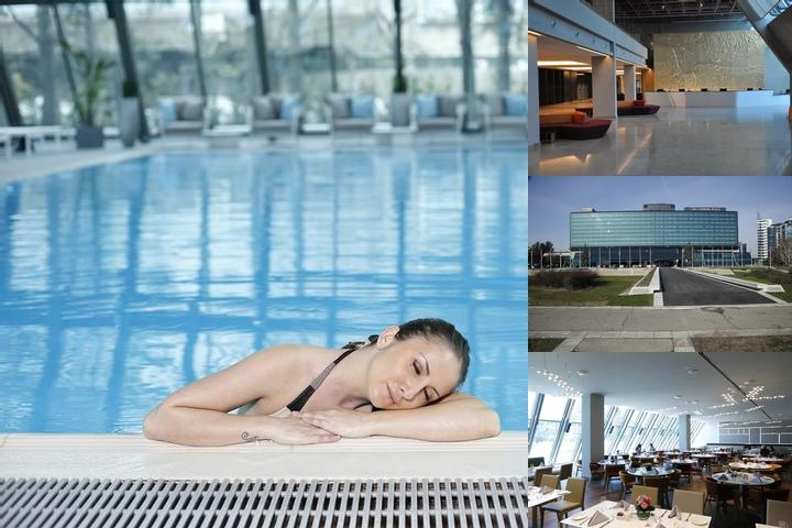 Crowne Plaza Belgrade photo collage