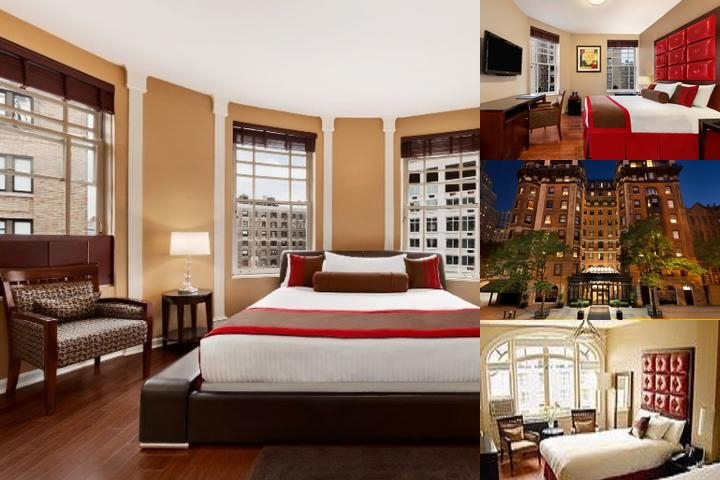 Hotel Belleclaire photo collage