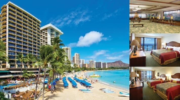 Outrigger Waikiki Beach Resort Photo Collage