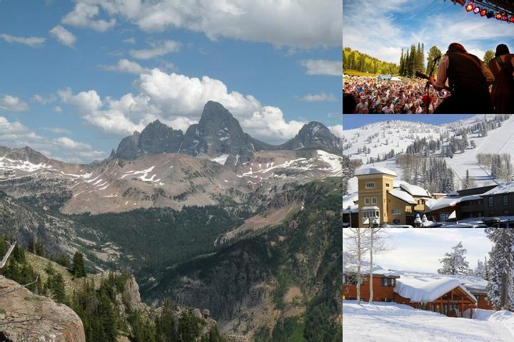Grand Targhee Resort photo collage